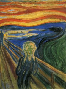 Edvard Munch. 'L'urlo'.